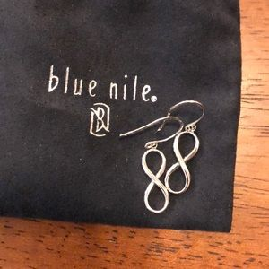 Blue Nile Infinity earrings